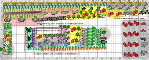 BIG Organic Vegetable Garden Plans for Empty Beds!