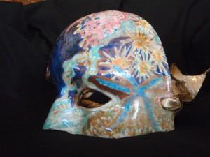 Santa Barbara Maritime Museum Mask created by M. Nicole van Dam