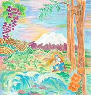 """California Gold"" by M. Nicole van Dam"