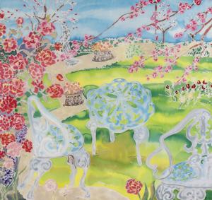 """""""Meubles de Jardin"""" by M. Nicole van Dam"""