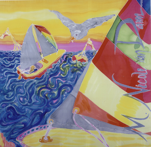 """Sailing"" by M. Nicole van Dam"