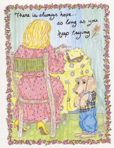 """""""There is Always Hope"""" by M. Nicole van Dam"""