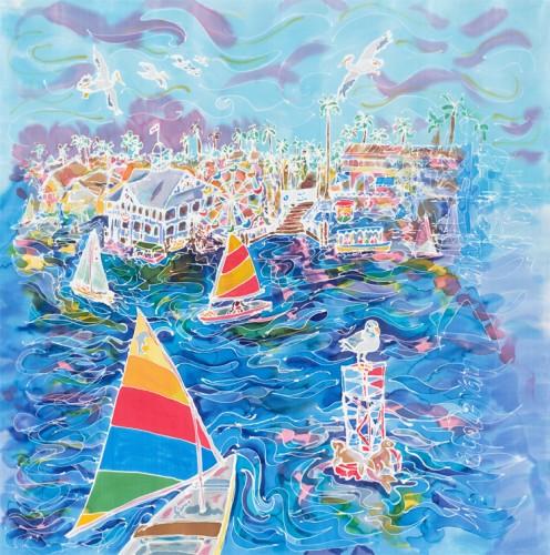 Balboa Bay by M. Nicole van Dam