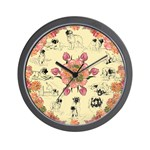Leonberger clock design