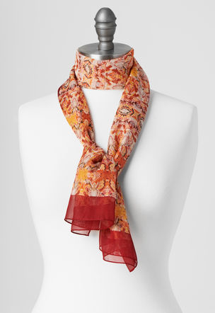 """Indian Autumn"" scarf"